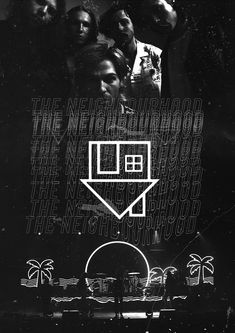 Poster The Neighbourhood Room Posters, Band Posters, Poster Wall, Poster Prints, The Weeknd Poster, The Neighbourhood, Vintage Music Posters, Band Wallpapers, Music Wallpaper
