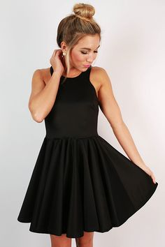 If you're looking for the perfect little black dress, you've found it!