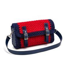 Magenta Arty Workshop - δωρεάν σεμινάρια πλεξίματος, νήματα Leather Bags Handmade, Handmade Bags, What Is Knitting, Crochet Purses, Crochet Bags, Crochet For Beginners, Backpack Purse, Knitted Bags, Leather Handbags
