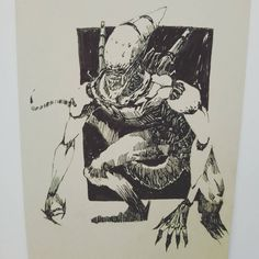 150 個讚,1 則留言 - Instagram 上的 marcorich(@mrink_1):「 Ink line sketch:Alien of my type #artist #illustrator #painting #drawing #manga #漫画 #girl #graffiti… 」