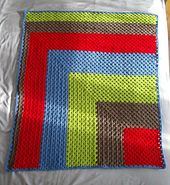 Ravelry: Corner Square Baby Blanket pattern by Earth and Sky