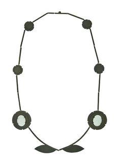 Necklace No. 4 (Two Teeth) - Allyson Bone