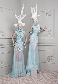 Furne One of Amato Haute Couture Rococo Fashion, Fashion Art, Editorial Fashion, High Fashion, Fashion Design, Fashion Beauty, Unshrink Clothes, Mode Costume, Sculptural Fashion