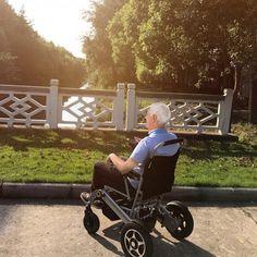 Airwheel H3 Smart Folding Electric Wheelchair Ushers A New Era of Wheelchair