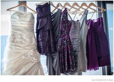 let the bridesmaids pick their own dresses in the color theme. Jill Tiongco Photography | Wedding & Event Photographer