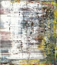 Gerhard Richter, Abstraktes Bild (Abstract Painting), 1990. Oil on canvas. 225cm H x 200cm W. [725-3]