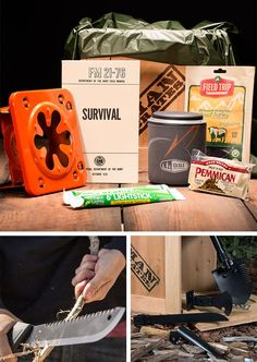 Not only is this gift perfect for my dad for Father's Day, it might even save his life one day! What a great find! | ManCrates