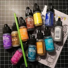 What's next? Playing along with some Alcohol inks for the first time. Excited Any advices?  #card #cards #cardmaking #crafting #papercraft #papercrafting #stamps #stamping #handmade #handmadecards #karte #kartenbasteln #kartendesign #stempeln #stempel #basteln #kartengestaltung #alcoholink