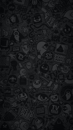 48 ideas for wall paper dark iphone backgrounds ipad Cartoon Wallpaper, Wallpaper Doodle, Graffiti Wallpaper, Dark Wallpaper, Trendy Wallpaper, Galaxy Wallpaper, Wallpaper Keren, Wallpaper Wallpapers, Mobile Wallpaper
