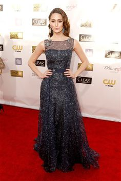 Emmy Rossum at the 18th Annual Critics' Choice Movie Awards    #fashion #RedCarpet #Celebrity