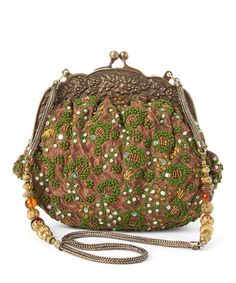 Look what I found on #zulily! Green Embroidered Vintage-Inspired Shoulder Bag by RICKI DESIGNS #zulilyfinds