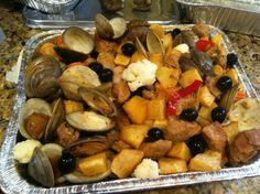 I want some! Portuguese Carne Alentejana #Easter #SundaySupper @BostonTCup