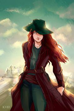 Finished!Anne Bonny from Black Sails