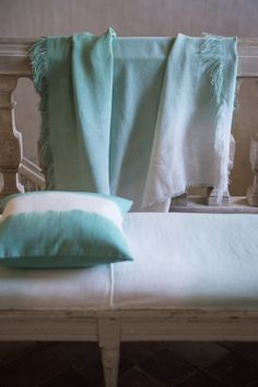 Designers Guild Saraille jade throw