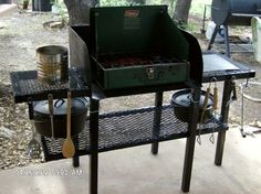 Dutch Oven Cooking Table Plans   Dutch Oven Cooking Table Dutch Oven Table, Dutch Oven Cooking, Dutch Oven Recipes, Cast Iron Cooking, Cooking On The Grill, Dutch Ovens, Cooking Stand, Taco In A Bag, Chicken Foil Packets
