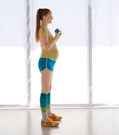Super Mom Workout. A workout for pregnant women.
