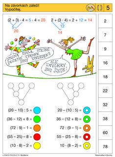 Vhodné pro děti od let Soubor obsahuje 16 různých karet, vždy s 10 úkoly. Karta se zasune do rámečku a barevné knoflíky se přisouvají ke správné 1st Grade Math, Grade 1, Sequencing Cards, Multiplication, Speech Therapy, Mathematics, Worksheets, School, Teaching Supplies
