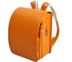 New Japanese Randoseru Backpack Orange Clarino Kawaii Japan