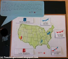 Cute weather forecasting activity