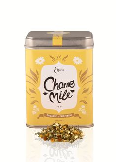 This tea isn't something to be shy about, each flavour represented by a vibrant colour, unique graphic elements and flowing lines, all celebrating the organic and fairtrade ethos.