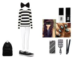 """""""LJ Girl Outfit"""" by ayannnacruz ❤ liked on Polyvore featuring Forever 21, Zero Gravity, Marc by Marc Jacobs, Twist & Tango, ESCADA, Vans, Wet Seal and JINsoon"""