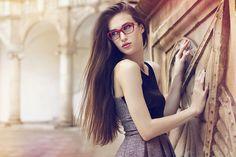 Dolce&Gabbana, D&G, eyewear, red, cateye, fot.Marta Macha