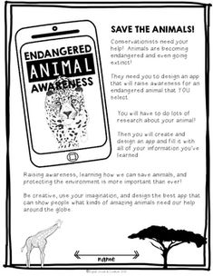 Project Based Learning Activity: Endangered Animal