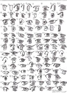 awesome How to draw anime girl eyes