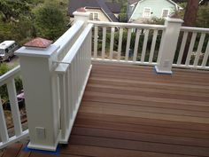 Just the image. But this is a great idea for a deck. No loss of space from swinging gate.