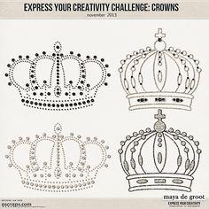 Express Your Creativity Challenge :November 2013 | Maya de Groot designs - Forum :: Oscraps.com