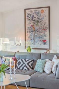 FINN – ALEXANDER KIELLANDS PLASS - Lekker 3(4)-r loftsleilighet med herlig vinterhage, mulighet for peis og 90 kvm gulvareal! Work Surface, Modern Kitchen Design, Stuff To Do, Simple, Amazing, Artwork, Home, Work Of Art, House