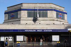Hounslow West Art Deco Tube Station
