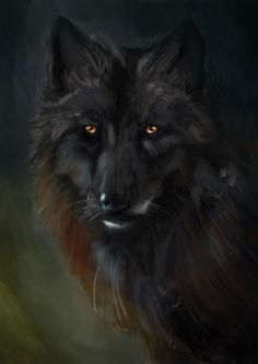 Digital Collage, Digital Art, Wolf Painting, Digital Illustration, Abstract, Animals, Summary, Animales, Animaux