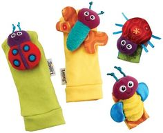 Grasping Toys, Rattles & Teethers