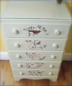 Paint A Dresser: New Life For An Old Piece Of Furniture