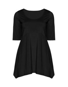 Empire line jersey top by Isolde Roth. Shop now: http://www.navabi.ca/shirts-isolde-roth-empire-line-jersey-top-black-31704-2400.html?utm_source=pinterest&utm_medium=social-media&utm_campaign=pin-it