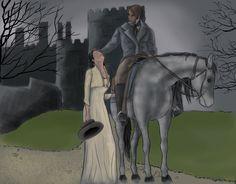 Jane and Rochester by Jafean.deviantart.com on @DeviantArt