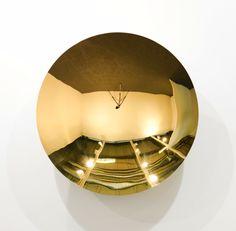 Anish Kapoor.  Gold Mirror