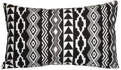 Agra Black Pillow from Suki Cheema