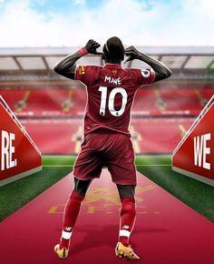 Football Art, Football Players, Sadio Mane, Liverpool Fc Wallpaper, Red Day, Arsenal Fc, Real Madrid, All Star, Thailand