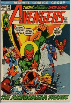 The Avengers #96 by Neal Adams