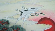 전국민화 공모전 <꿈꾸는 세상> : 네이버 블로그 Korean Painting, Moose Art, Birds, Animals, Paintings, Animales, Animaux, Paint, Painting Art