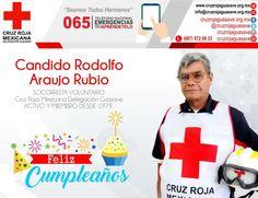 Que este día tan especial sea para ti el comienzo de otro año de #Felicidad. 38 años de #Voluntariado. #FelizCumpleaños! #CruzRojaGuasave