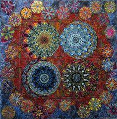 Quilt Kaleidoscope XVI (More is More) by Paula Nadelstern