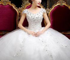 Rochie de mireasa printesa cu maneci COD IMP22-a The Bride, Wedding Bride, Wedding Gowns, Formal Dresses For Weddings, Corset, One Shoulder Wedding Dress, Neckline, Aliexpress, Alibaba Group