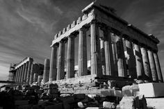 The finest monument of Athens! The greatest symbol of democracy and philosophy! One of the largest achievements of global architecture, sculptu Parthenon Athens, Acropolis, Athens Greece, Greeks, Memories, Statue, Country, Architecture, City