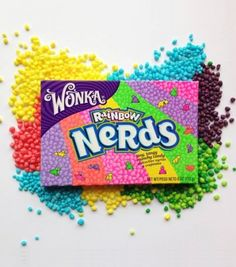 Nerds Rainbow format famille - Wonka - My pictures Best Candy, Favorite Candy, Nerds Candy, Sour Candy, Sweet Tarts, American Food, Candy Shop, Pop Tarts, Junk Food