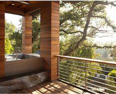 indoor / outdoor showers