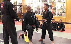 """This awesome martial arts instructor tells his students it's OK for boys to cry: """"'It's truly vital that we, the men and fathers of this generation, do not allow our boys to grow up with a false sense of masculinity'...'Men are humans and it's OK to cry, but never give up when facing adversity. During these perverse times, it's truly vital that we, the men and fathers of this generation, do not allow our boys to grow up with a false sense of masculinity like many of us did'"""" (2016)."""