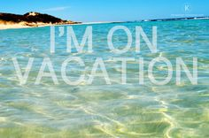a quick design for a travel quote. Vacation - holidays - beach Diseno - Frase - viajar - vacaciones - playa